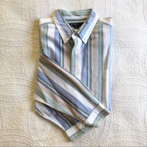 Cremieux Classics Striped Long Sleeve Oxford